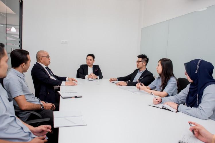 réunion d'affaire